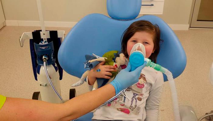 Применение веселящего газа в стоматологии