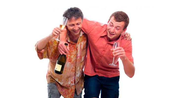 Коммуникабельность при легкой степени опьянения