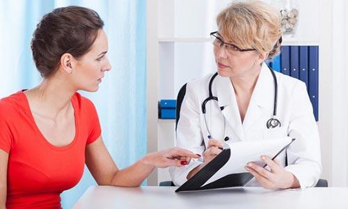 Лечение боли и жжения в появнице