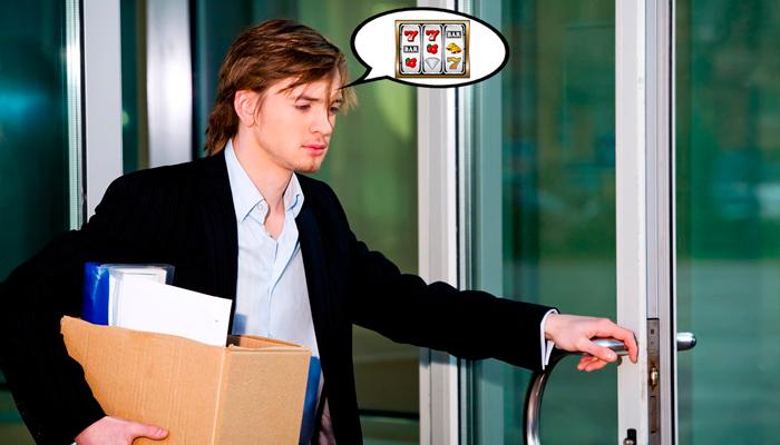Увольнение из работы из-за сильной зависимости к азартным играм