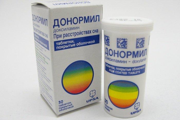 Донормил является снотворным препаратом, облегчающим наступление сна