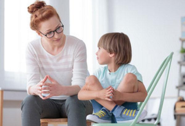 Общение психолога с ребенком