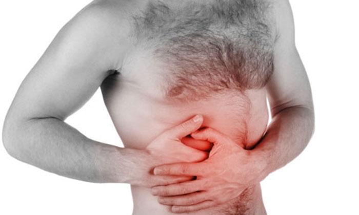 Симптом АБП - боль в правом боку