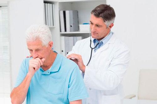Лечение кашля при грудном остеохондрозе