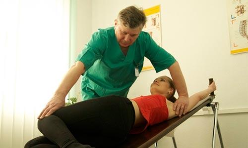 Лечение ущемления нерва в грудном отделе