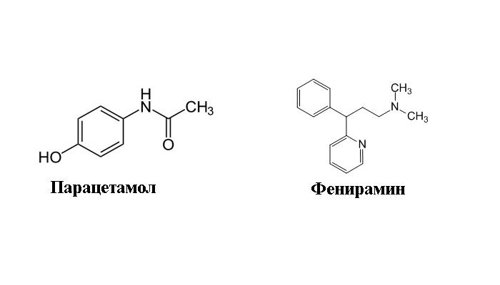 Действующие вещества препарата Терафлю
