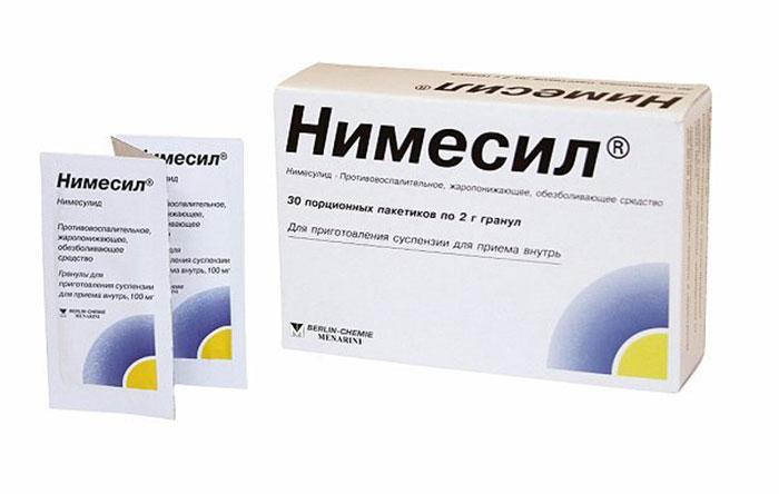 Нимесил применяют как противовоспалительное и обезболивающее средство