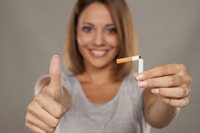 После выведения никотина качественно улучшается состояние всего организма