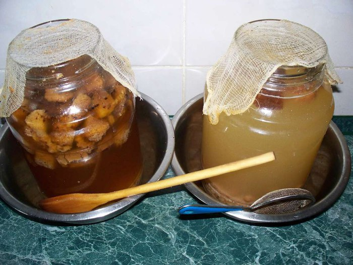 Содержание алкоголя в квасе зависит от рецепта