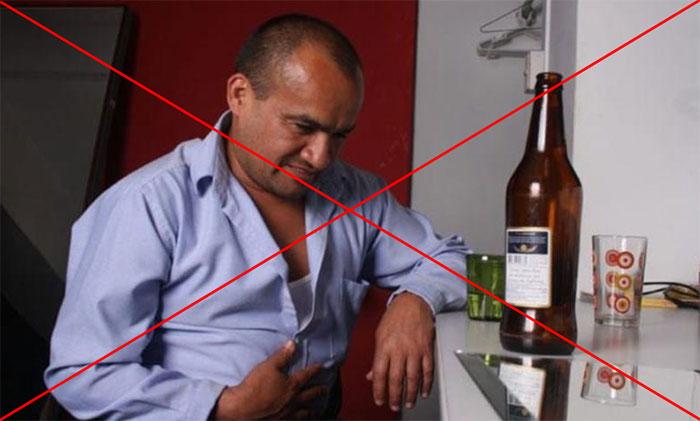 Врачи утверждают - Де-Нол и алкоголь являются веществами полностью несовместимыми