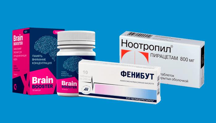 Ноотропные препараты в помощь при отеке мозга