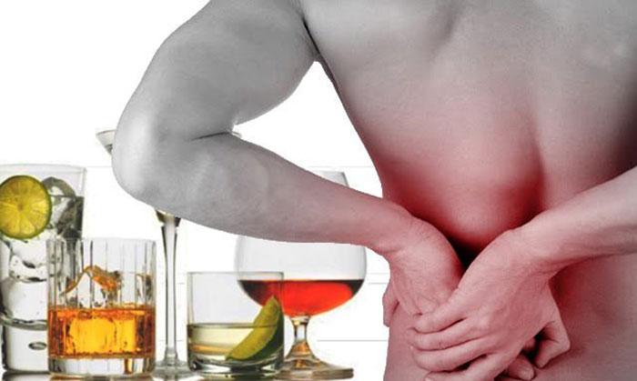 Приём Артрозана и алкоголя существенно увеличивает нагрузку на почки
