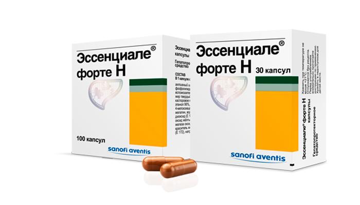 Препарат Эссенциале для лечения гепатита