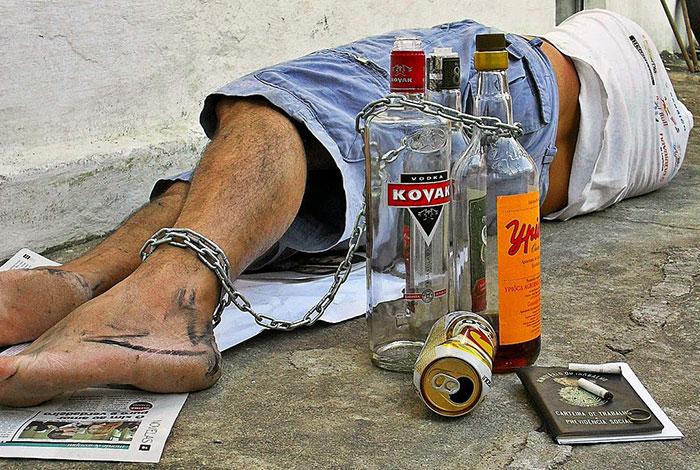 Алкоголизм разрушает личность