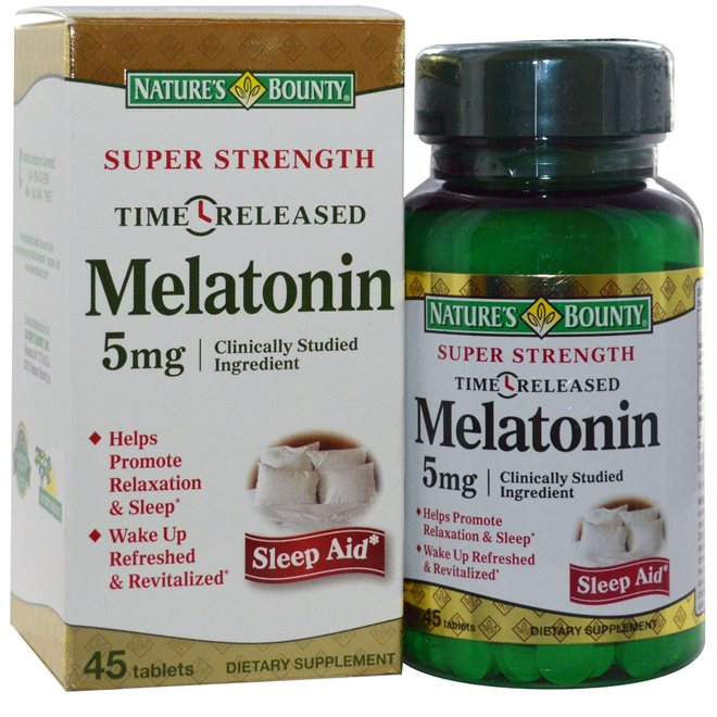 Таблетки Melatonin