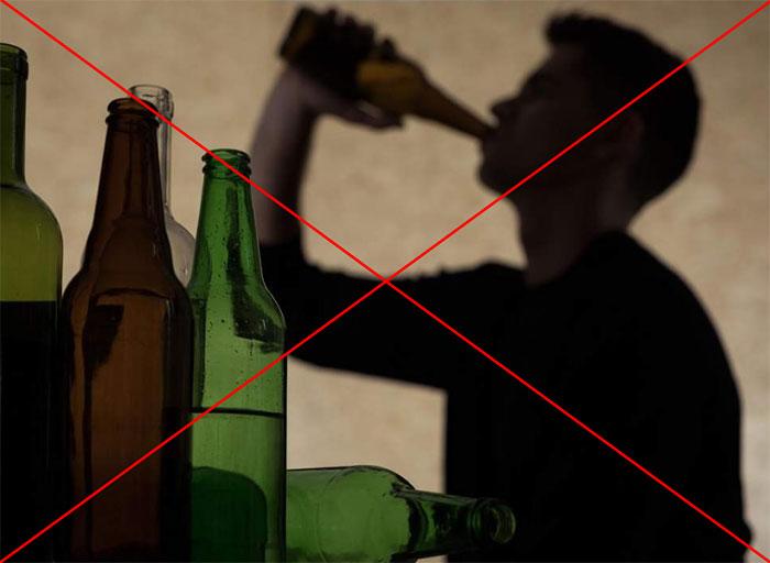 Врачи не рекомендуют совмещать приём Аспирина со спиртными напитками