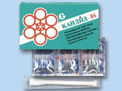 Препарат Кандид-B6