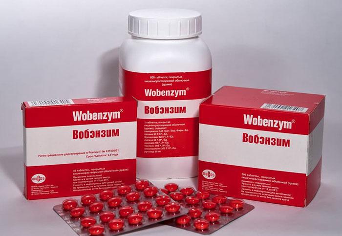 Вобэнзим - полиферментный препарат с иммуномодулирующим противовоспалительным действием