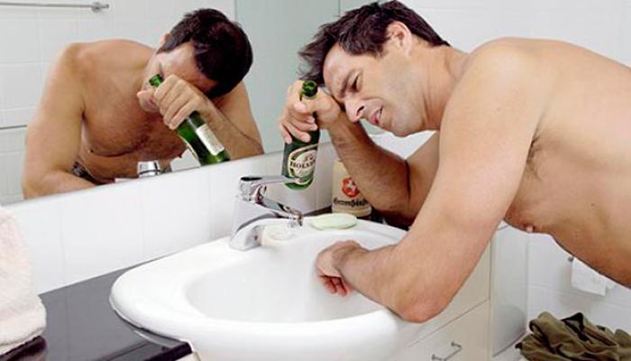 Похмелье, как один из симптомов алкоголизма