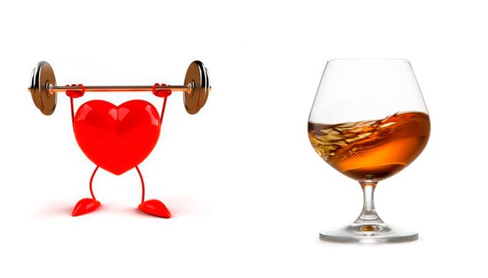 Появление прыщей из-за нагрузки алкоголя на сердце