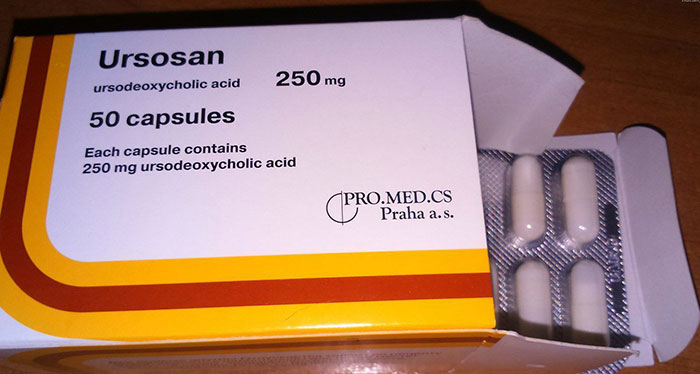 Урсосан является гепатопротектором с желчегонным эффектом