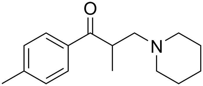 Толперизон - структурная формула действующего вещества препарата Мидокалм