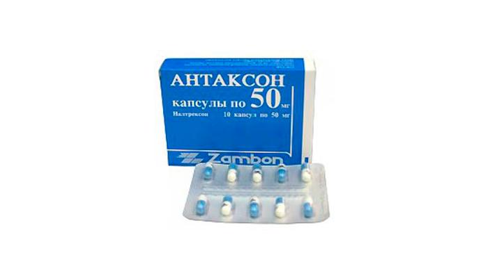 Антаксон для лечения зависимости от опиатов