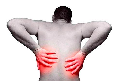 Боль в спине при артрите