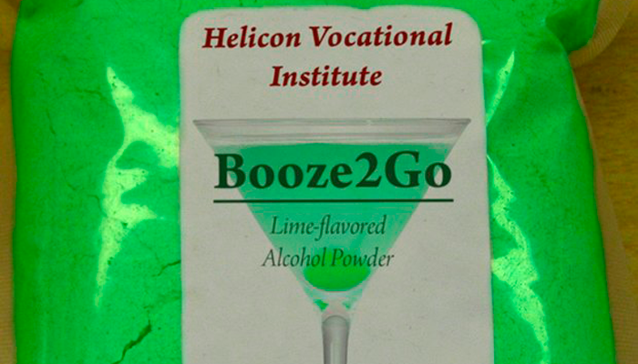 Голландский порошковый алкоголь Booze2Go