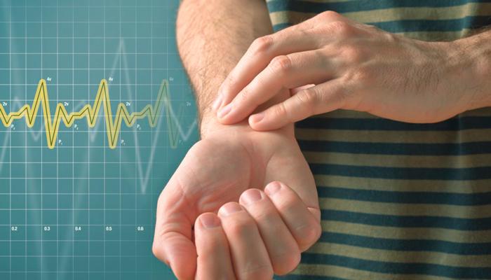Повышенный пульс при зависимости от энкефалинов