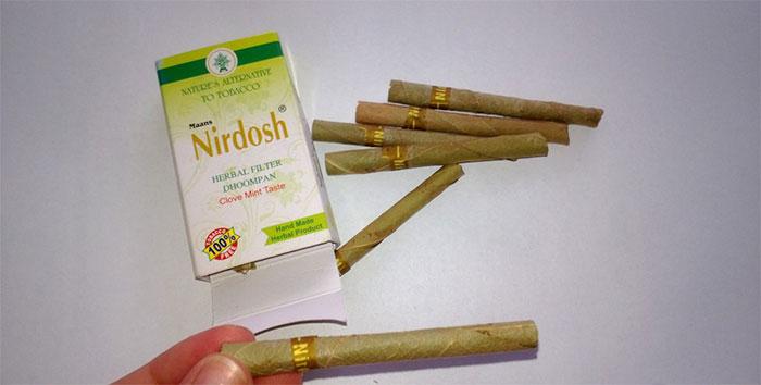 Травяные сигареты Nirdosh обладают лечебно-оздоровительными свойствами