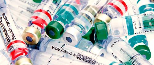 Медикаменты для блокады позвоночника