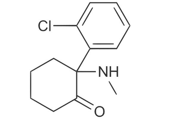 Химическая формула Кетамина