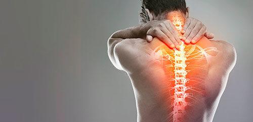 Боль в спине при грудном остеохондрозе