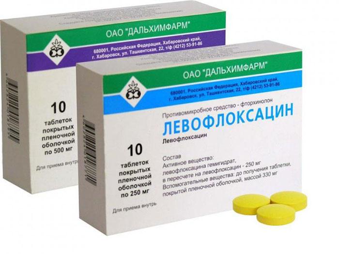 Левофлоксацин - антибиотик инфекционного направления