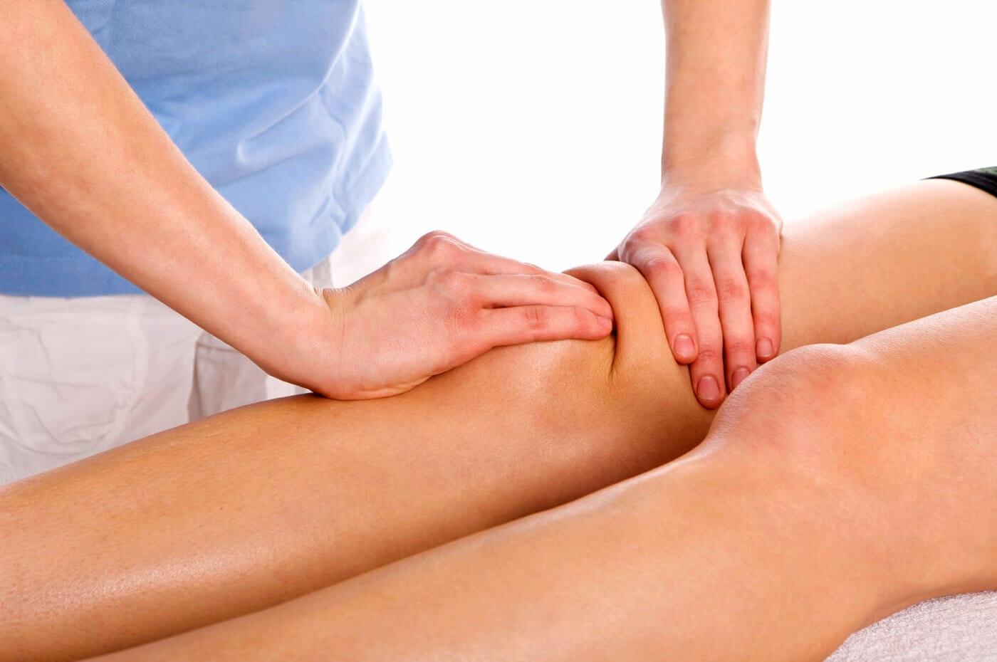 Массаж коленного сустава техника, показания и противопоказания