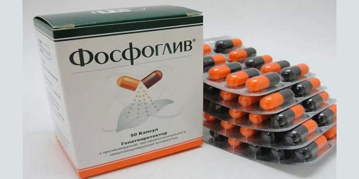 Фосфоглив - гепатопротектор с иммуностимулирующим и противовирусным эффектом