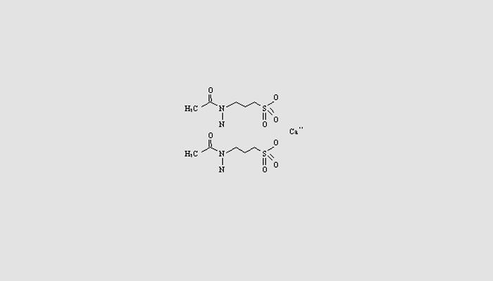 Химическая формула действующего вещества лекарства Акампросат