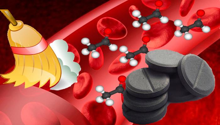 Очищение крови активированным углем от токсинов