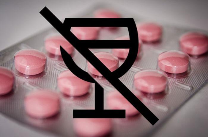 Специалисты не рекомендуют совмещать прием Пентоксифиллина и алкоголя