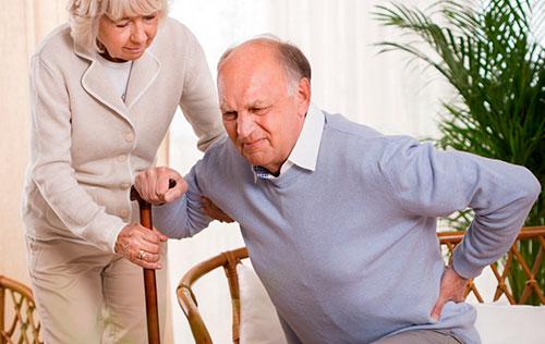 Развитие артроза в пожилом возрасте