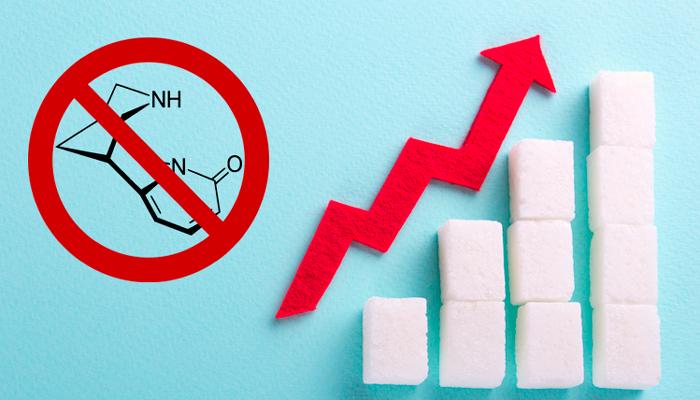 Запрет на применение цитизина при сахарном диабете