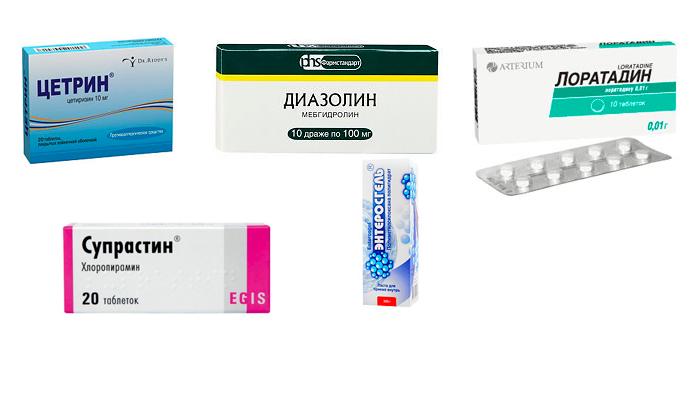Лекарства в помощь при крапивнице
