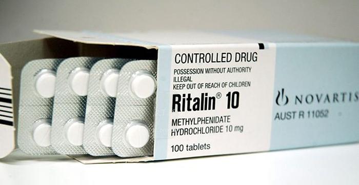 Метилфенидат - основное действующее вещество риталина