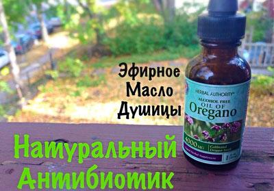 Эфирное масло душицы