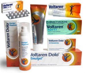 Эффективность воздействия Вольтарена на простатит