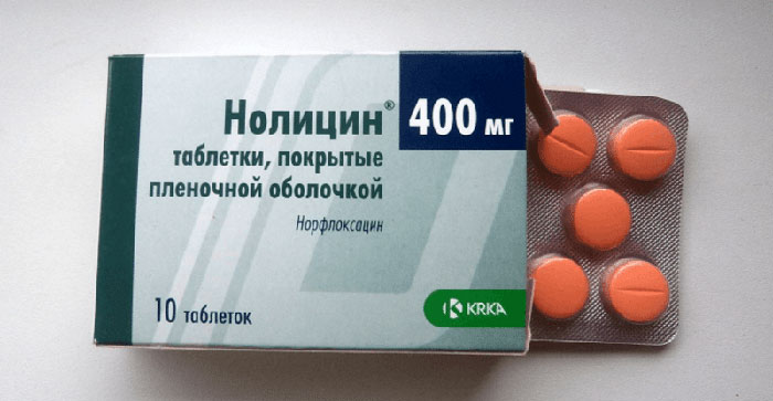 Нолицин - антибиотик группы фторхинолонов широкого спектра действия