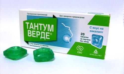 При использовании Тантум пациенты иногда жалуются на сухость и жжение во рту