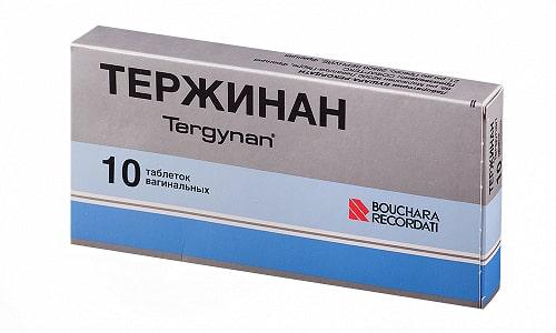 Тержинан быстро снимает воспаление во влагалище, спровоцированное разными причинами