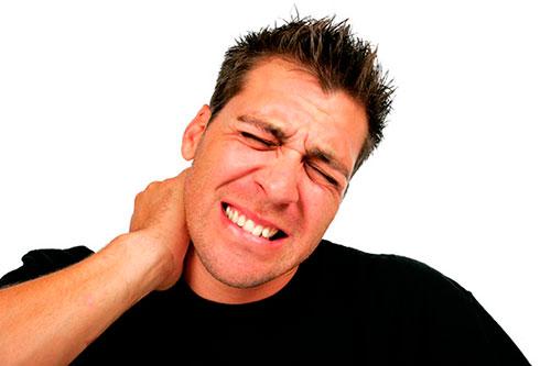 Боль в шее при корешковом синдроме